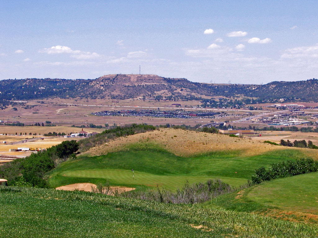 14th Hole at Red Hawk Ridge Golf Course (216 Yard Par 3)