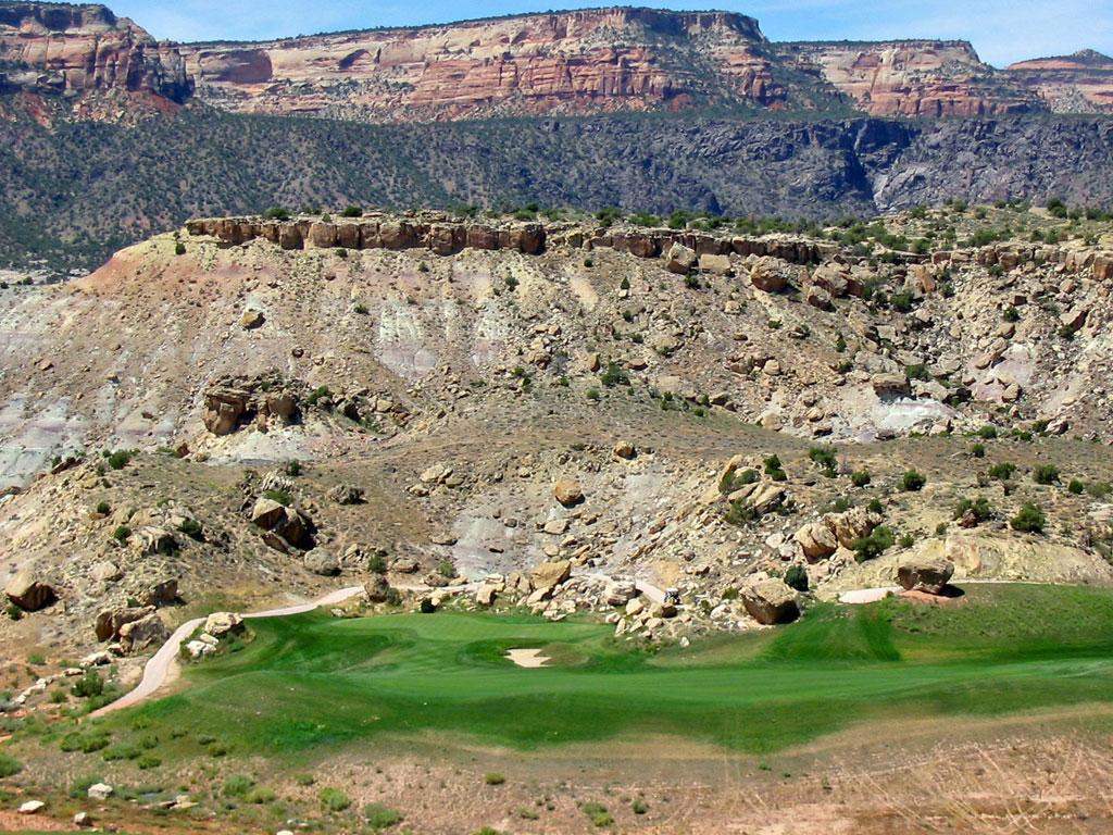 14th Hole at Redlands Mesa Golf Club (370 Yard Par 4)