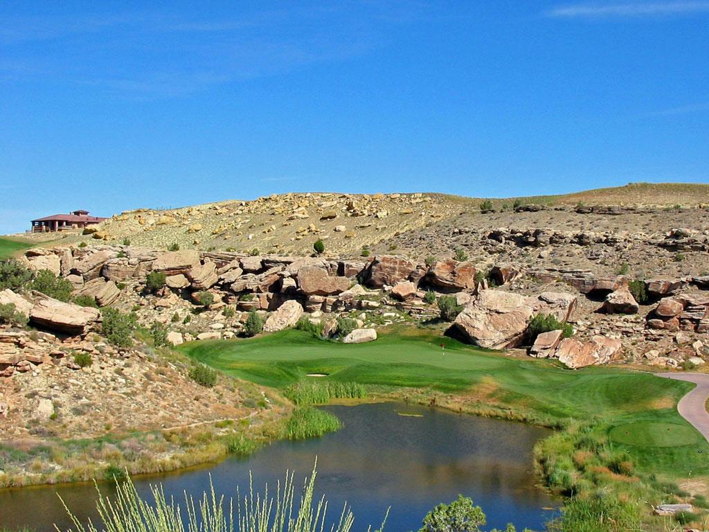 8th Hole at Redlands Mesa Golf Club (164 Yard Par 3)