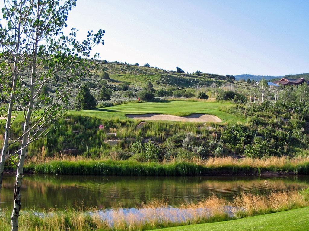 3rd Hole at Red Sky Golf Club (Norman) (479 Yard Par 4)