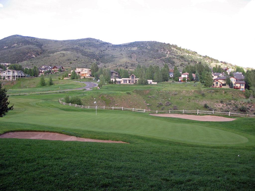 2nd Hole at Sonnenalp Golf Club and Resort (158 Yard Par 3)