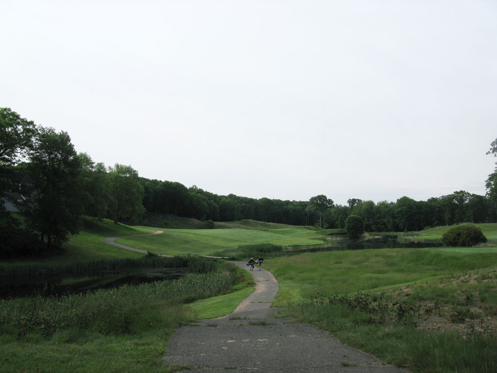 3rd (Blind) Hole at Yale, The Course at (411 Yard Par 4)