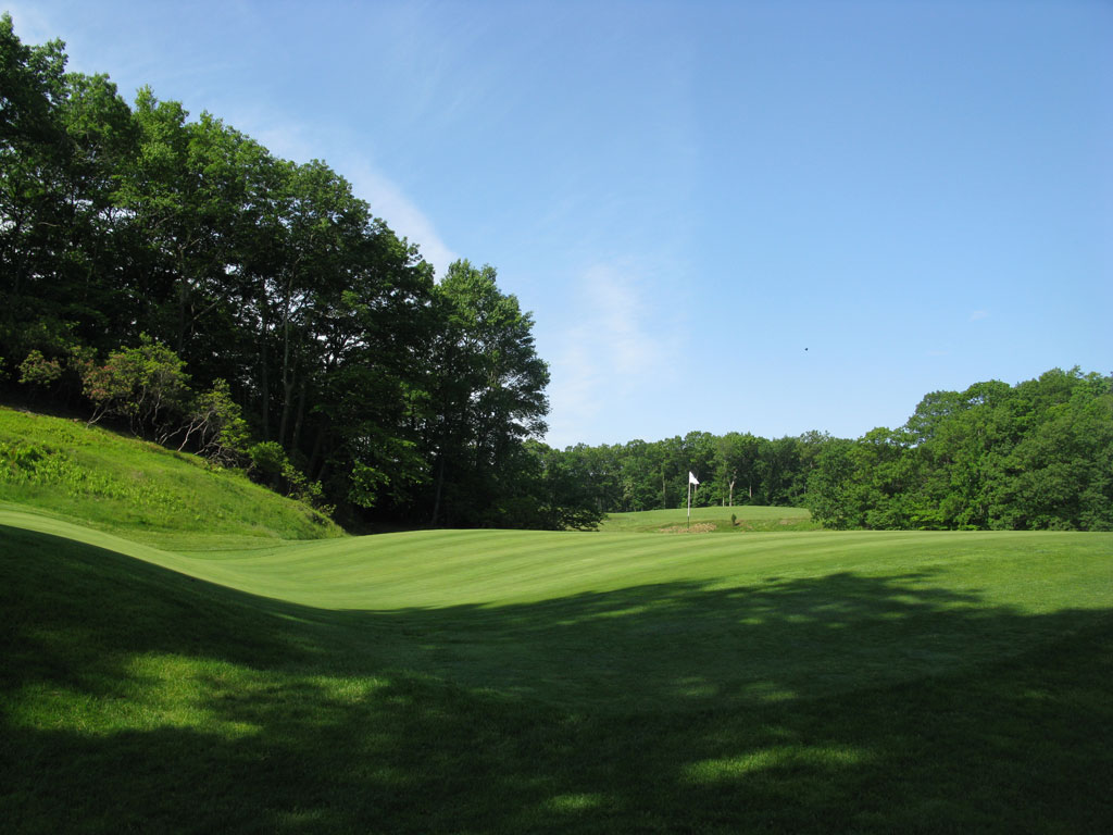 9th (Biarritz) Hole at Yale, The Course at (213 Yard Par 3)