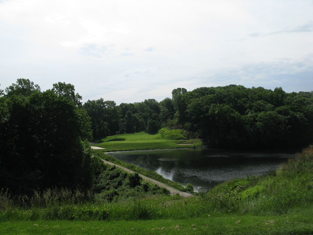 9th Hole at The Course at Yale