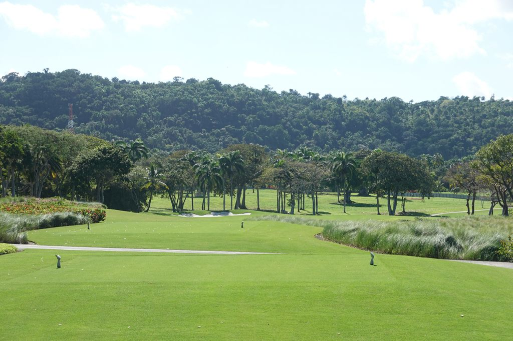 16th Hole at Playa Grande Golf & Ocean Club (462 Yard Par 4)