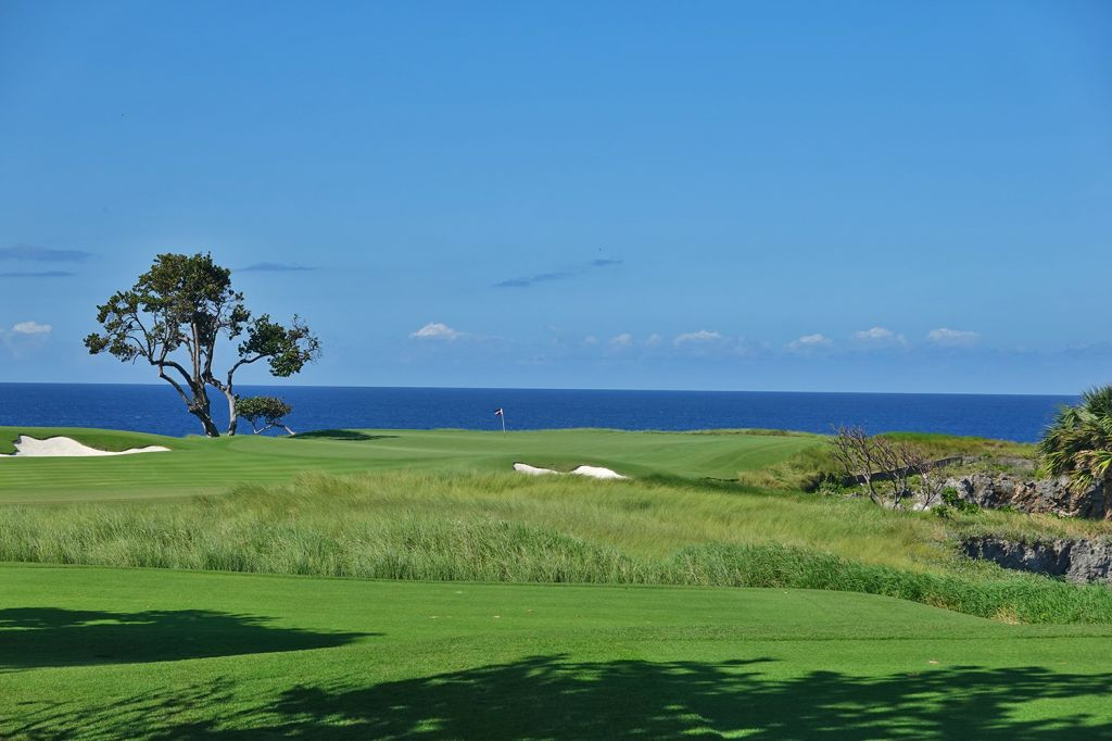 17th Hole at Playa Grande Golf & Ocean Club (168 Yard Par 3)