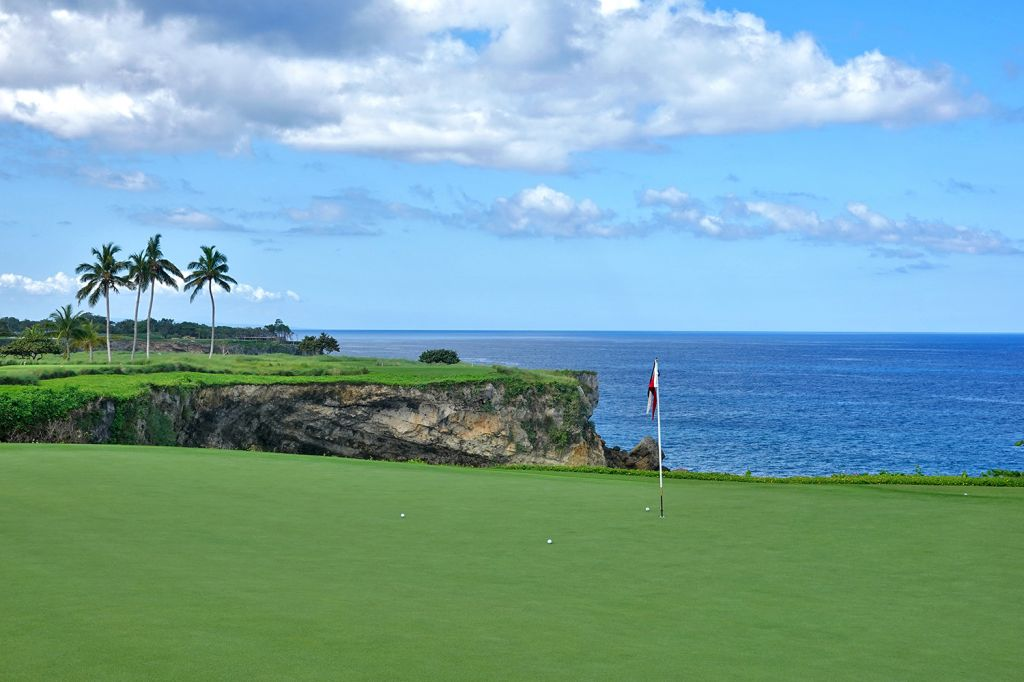 7th Hole at Playa Grande Golf & Ocean Club (215 Yard Par 3)