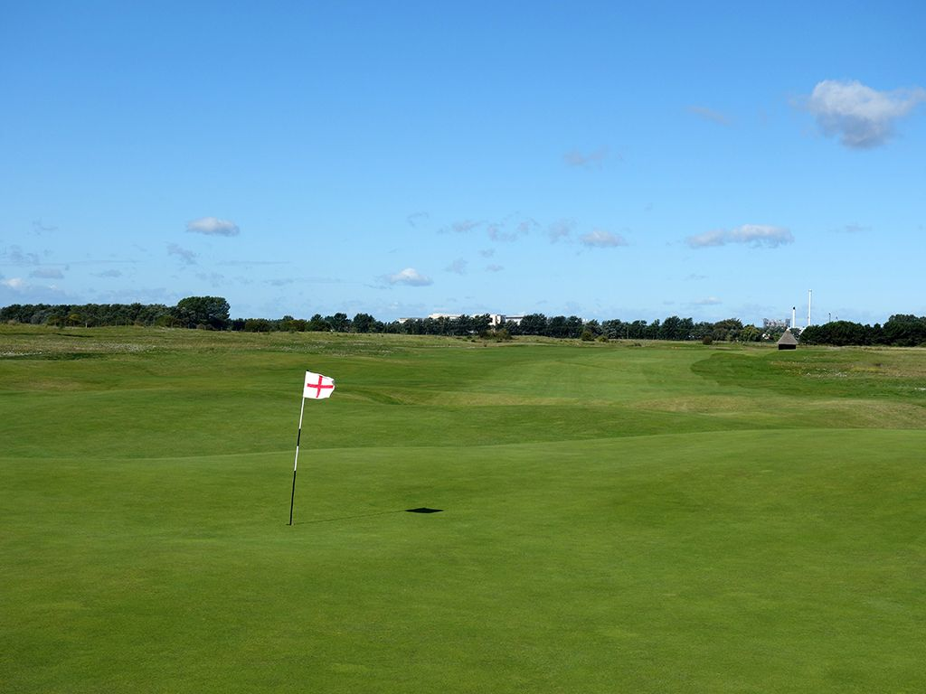 15th Hole at Royal St. Georges Golf Club (545 Yard Par 5)