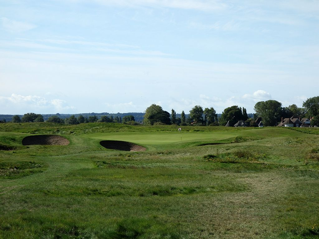 16th Hole at Royal St. Georges Golf Club (161 Yard Par 3)