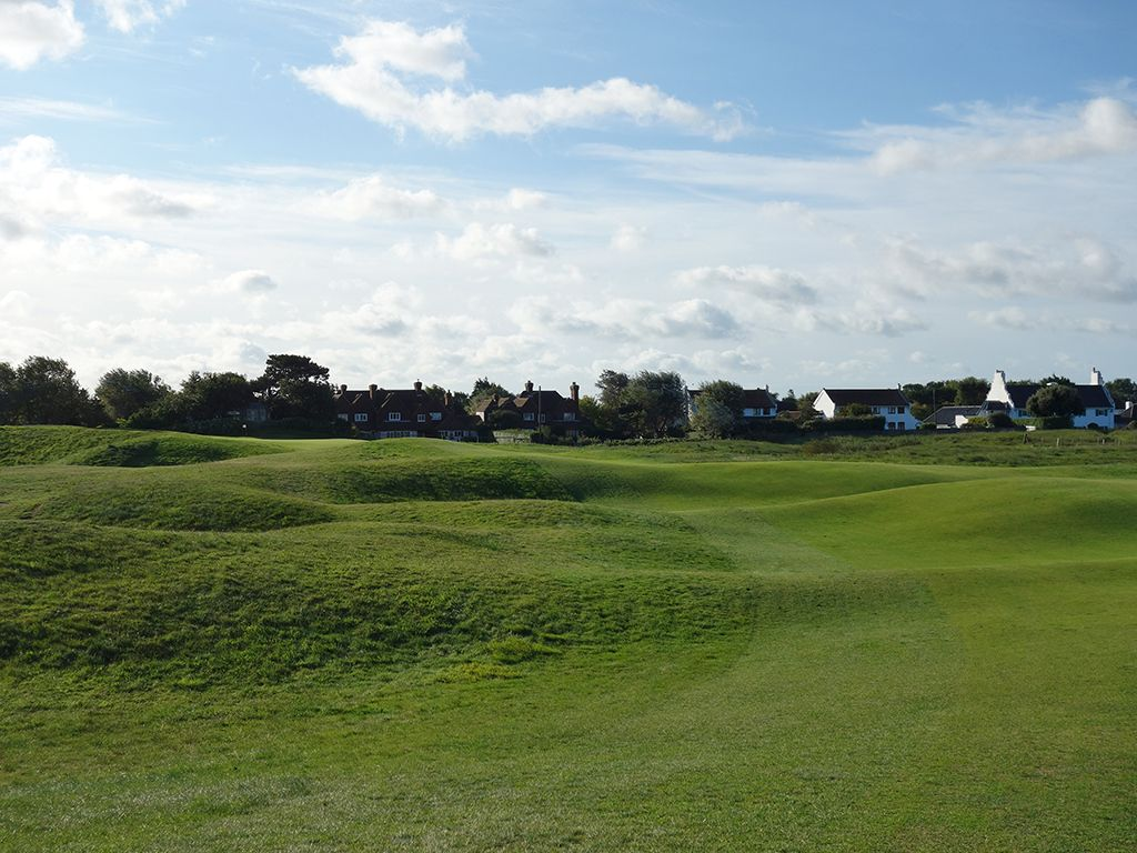 4th Hole at Royal St. Georges Golf Club (496 Yard Par 4)