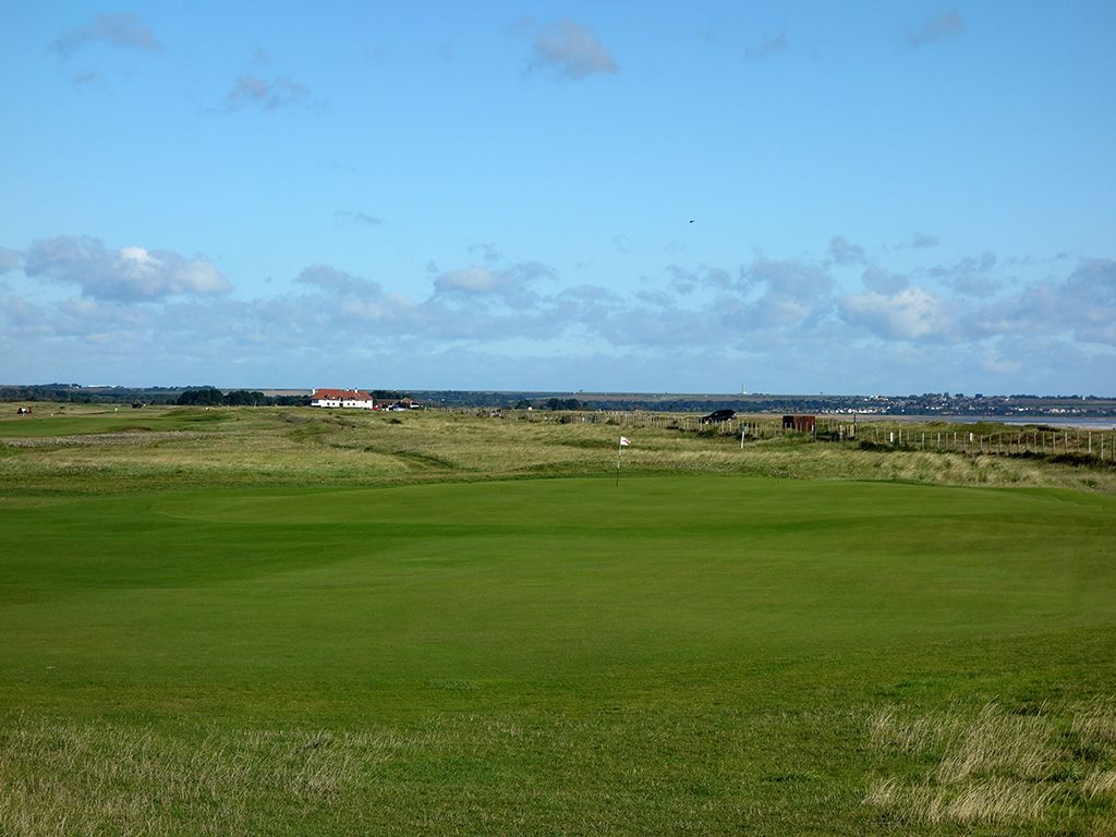 5th Hole at Royal St. Georges Golf Club (416 Yard Par 4)