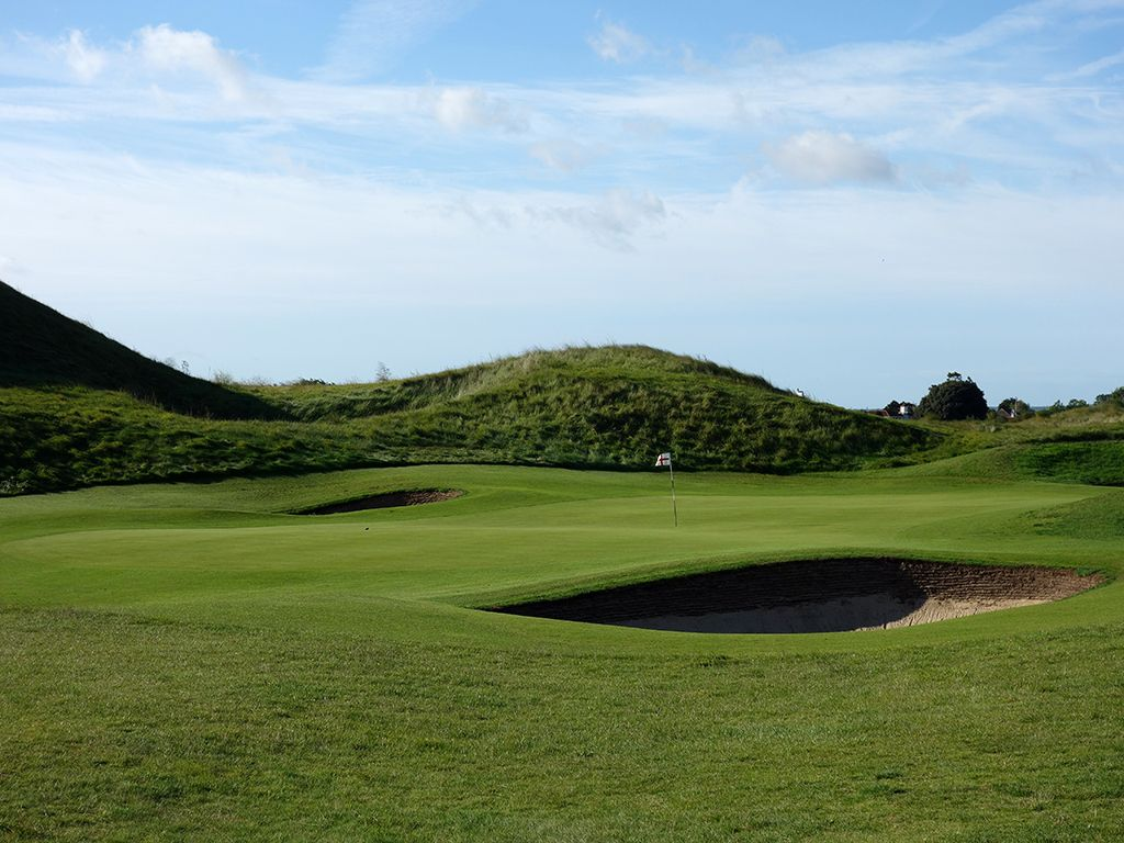 6th Hole at Royal St. Georges Golf Club (176 Yard Par 3)