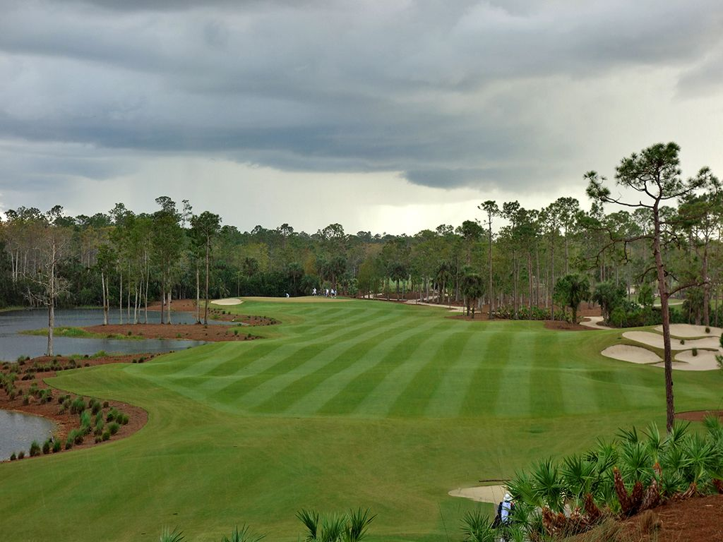 12th Hole at Calusa Pines Golf Club (468 Yard Par 4)