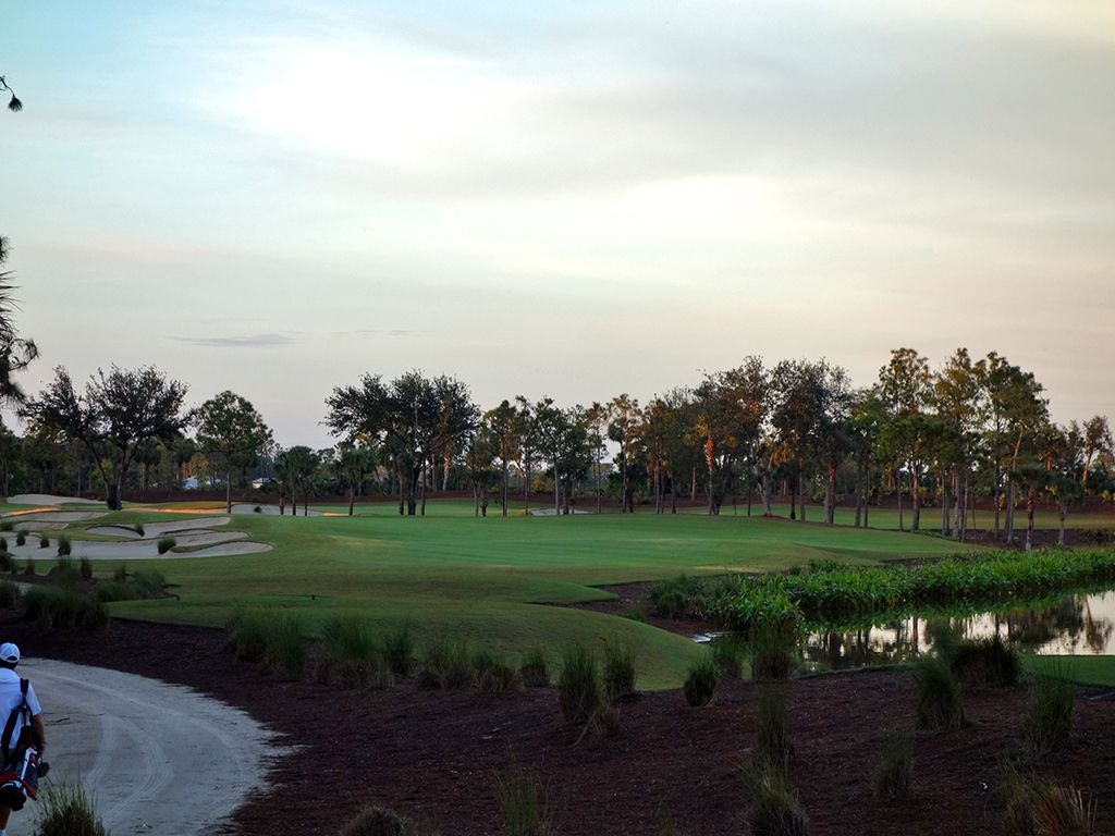 18th Hole at Calusa Pines Golf Club (512 Yard Par 5)