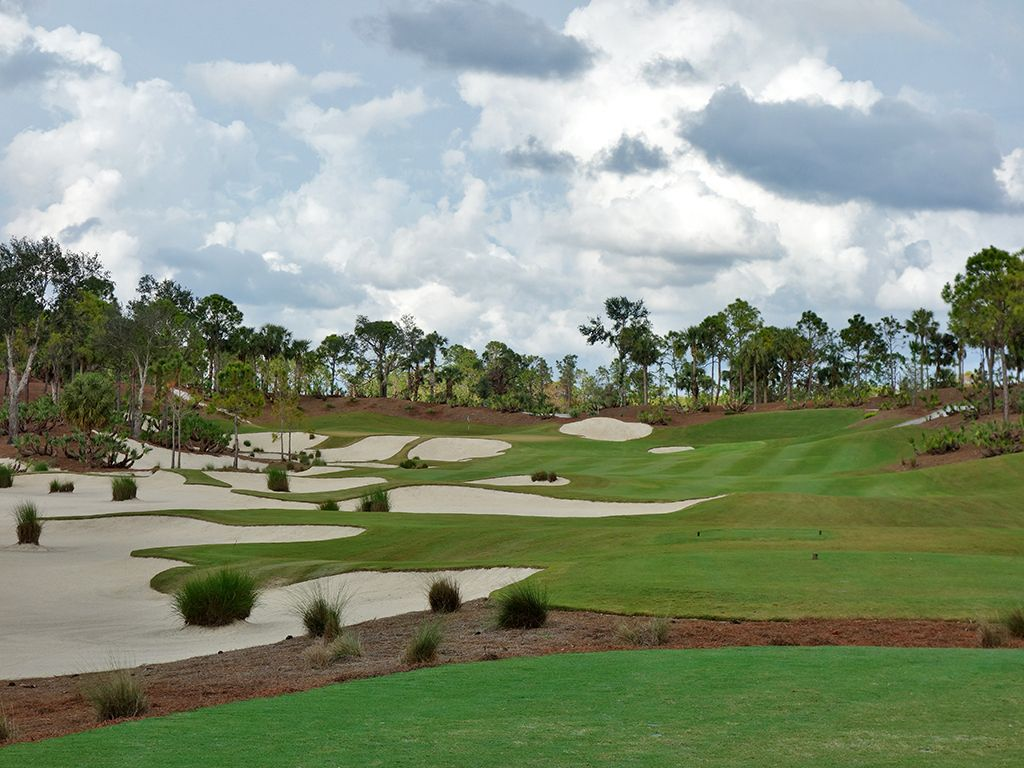 8th Hole at Calusa Pines Golf Club (291 Yard Par 4)