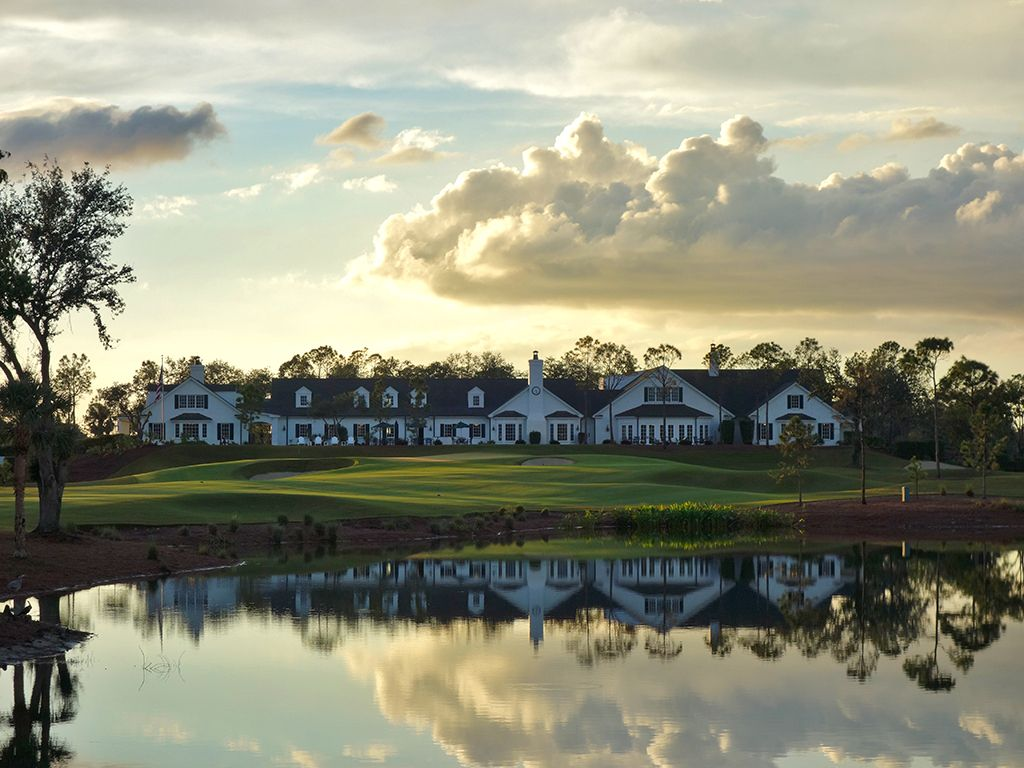 Clubhouse at Calusa Pines Golf Club
