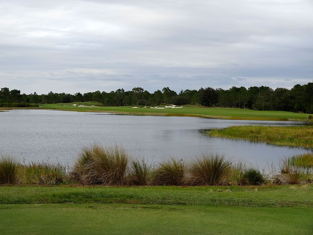13th Hole at Concession Golf Club (545 Yard Par 5)