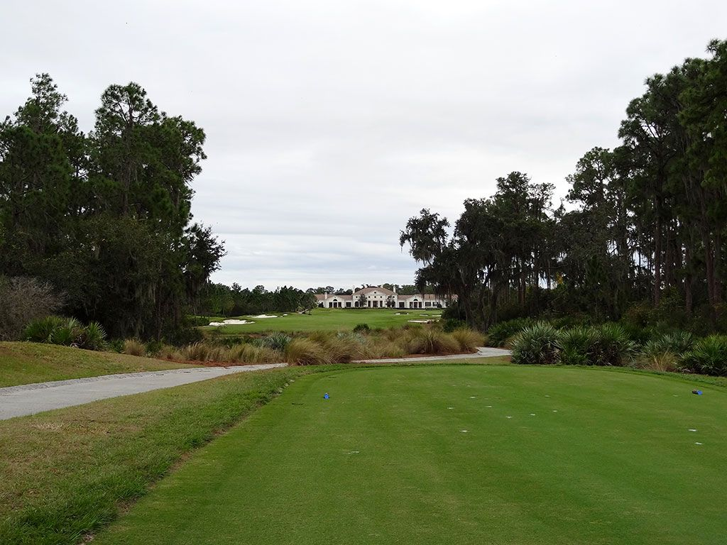 18th Hole at Concession Golf Club (486 Yard Par 4)