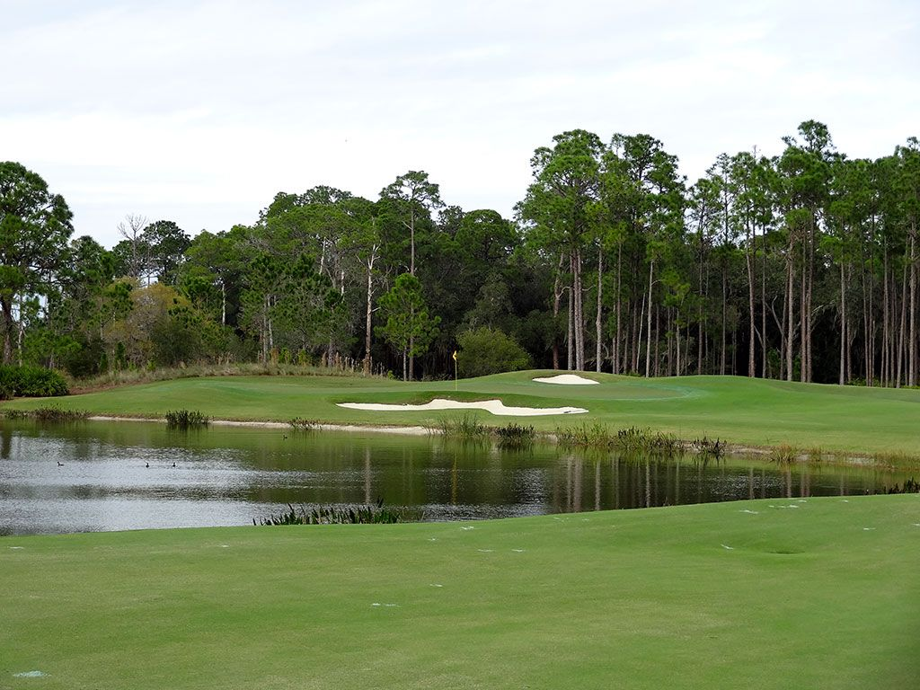 5th Hole at Concession Golf Club (478 Yard Par 4)