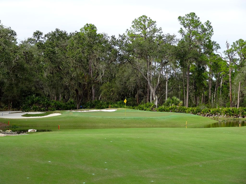 8th Hole at Concession Golf Club (374 Yard Par 4)