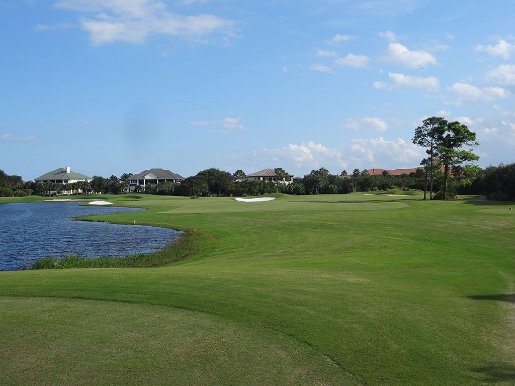 11th Hole at Hammock Beach Resort (Ocean) (384 Yard Par 4)