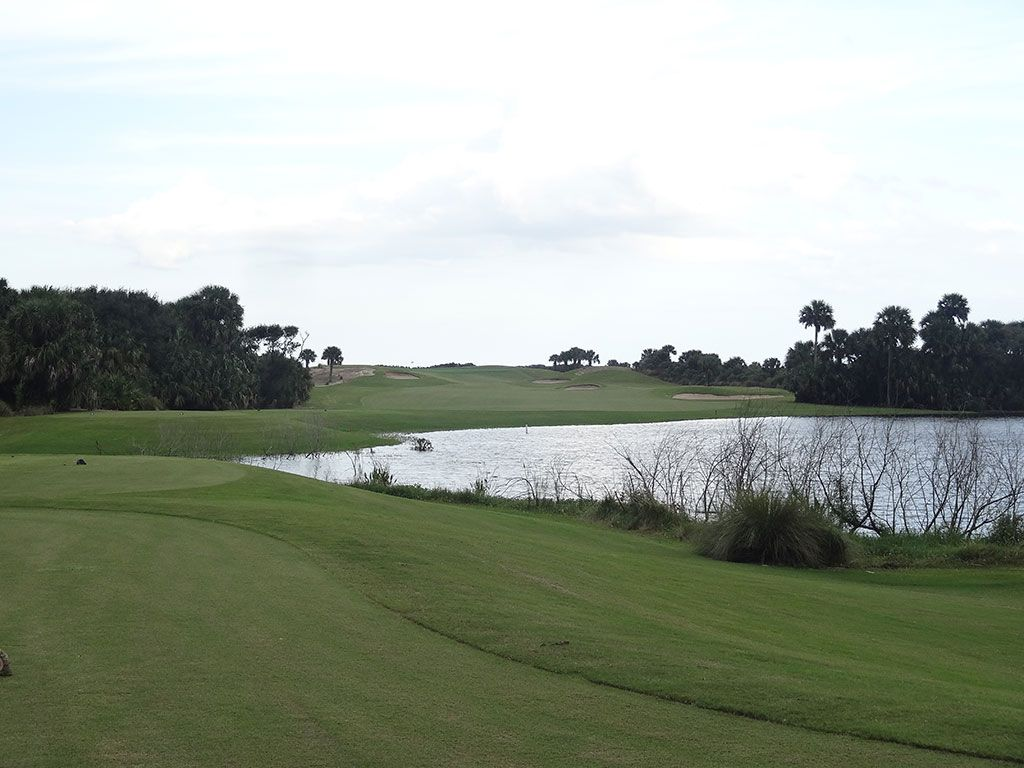 15th Hole at Hammock Beach Resort (Ocean) (450 Yard Par 4)