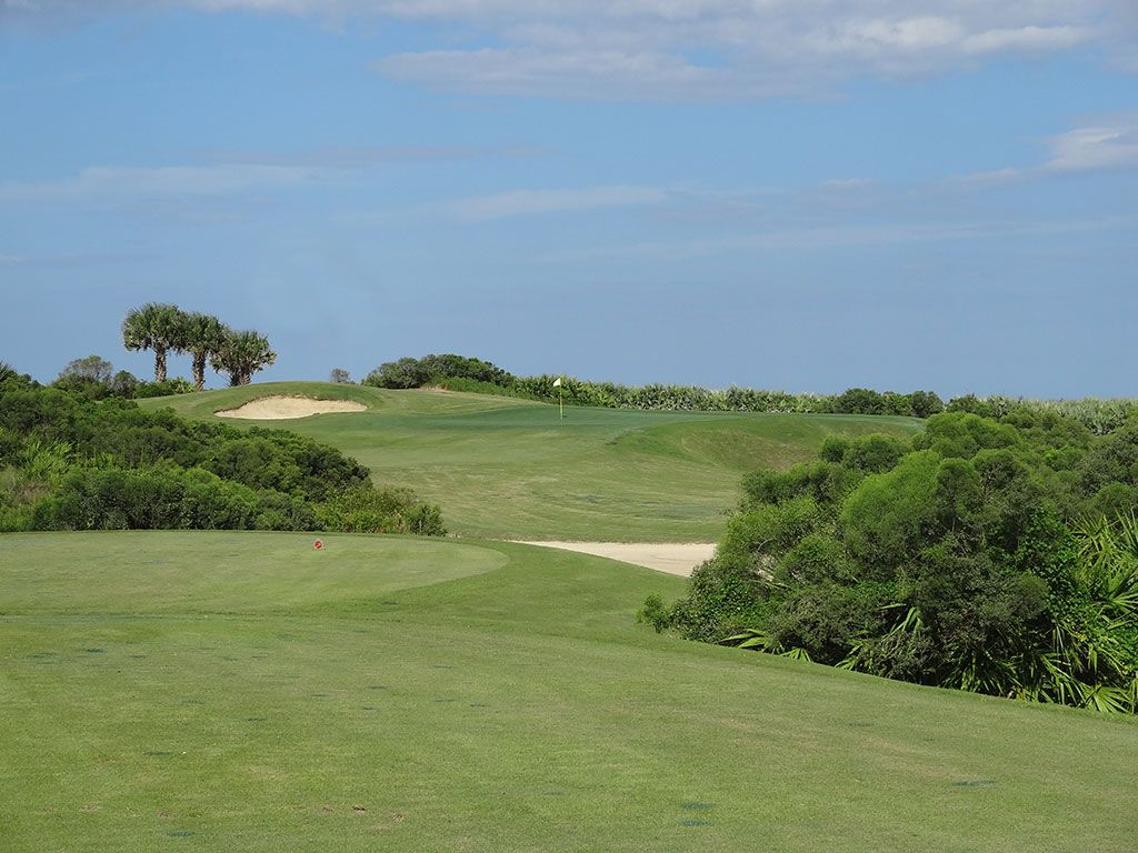 8th Hole at Hammock Beach Resort (Ocean) (185 Yard Par 3)
