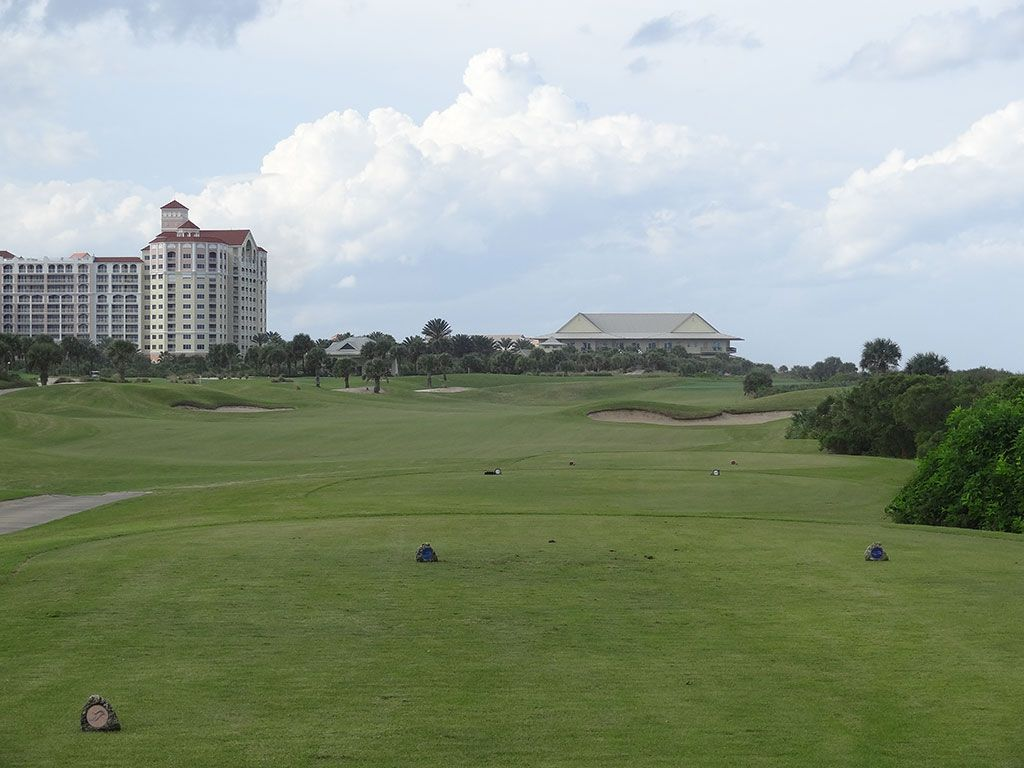 9th Hole at Hammock Beach Resort (Ocean) (468 Yard Par 4)