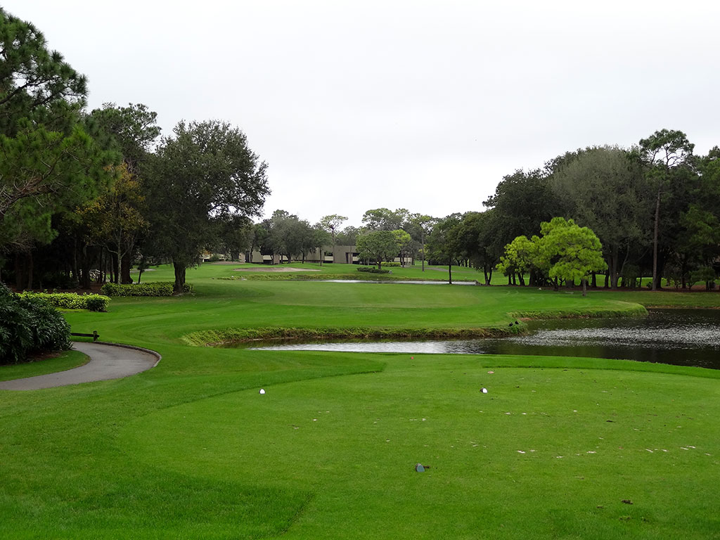12th Hole at Innisbrook Golf Club (Copperhead) (380 Yard Par 4)