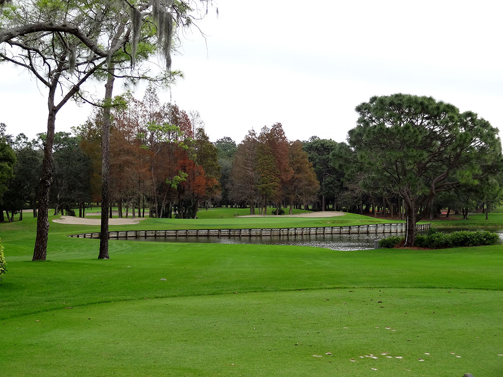 13th Hole at Innisbrook Golf Club (Copperhead) (200 Yard Par 3)