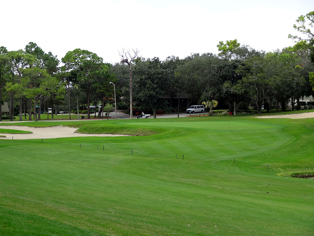 14th Hole at Innisbrook Golf Club (Copperhead) (590 Yard Par 5)