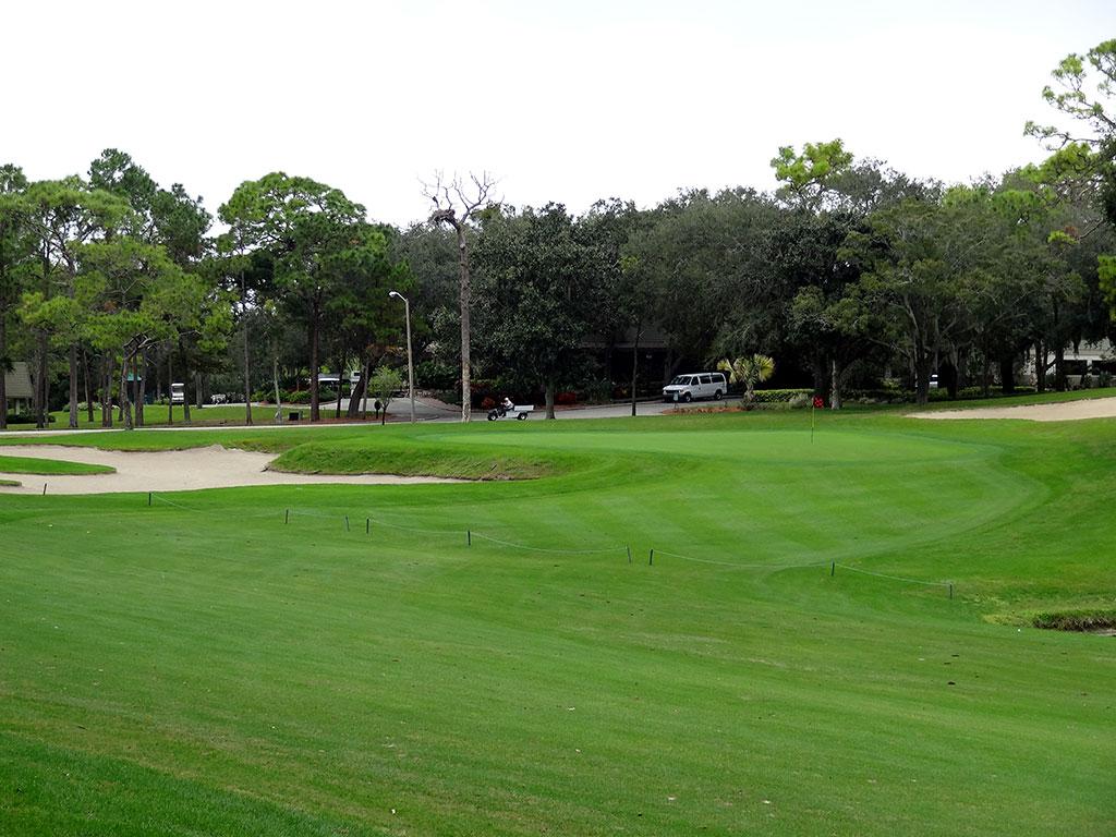 14th Hole at Innisbrook Golf Club (Copperhead) (590 Yard Par 5)