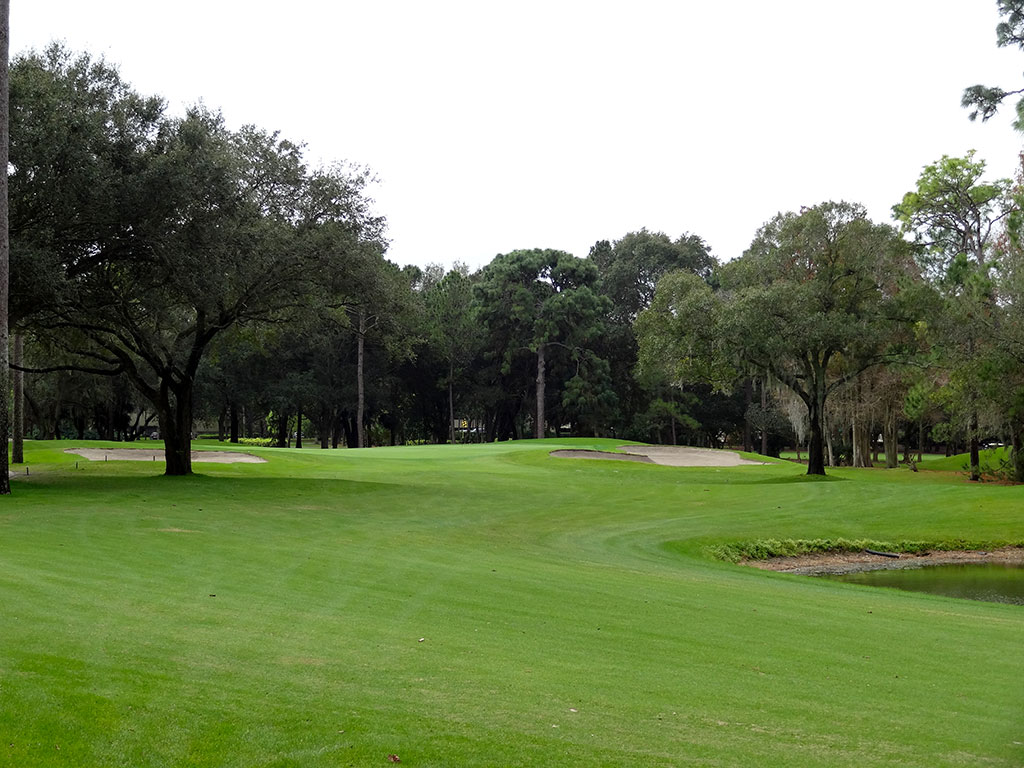 16th Hole at Innisbrook Golf Club (Copperhead) (475 Yard Par 4)