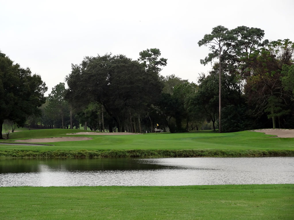 3rd Hole at Innisbrook Golf Club (Copperhead) (455 Yard Par 4)