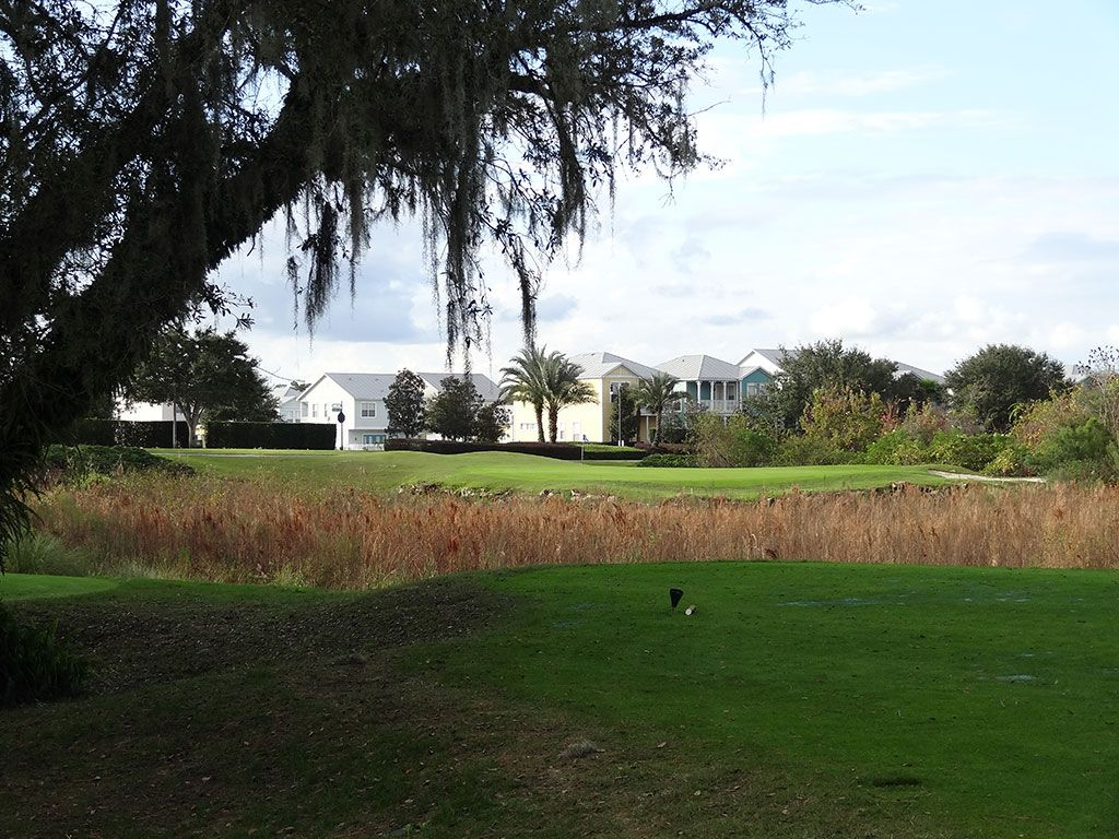 14th Hole at Reunion Resort (Palmer) (130 Yard Par 3)