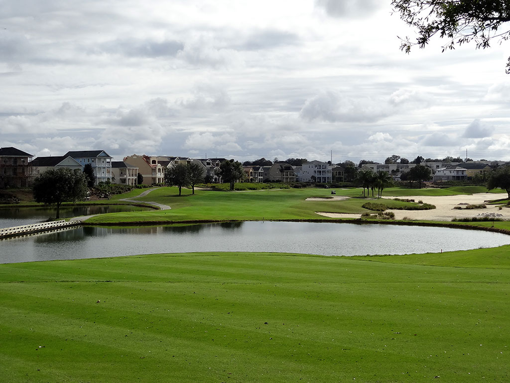 7th Hole at Reunion Resort (Palmer) (303 Yard Par 4)
