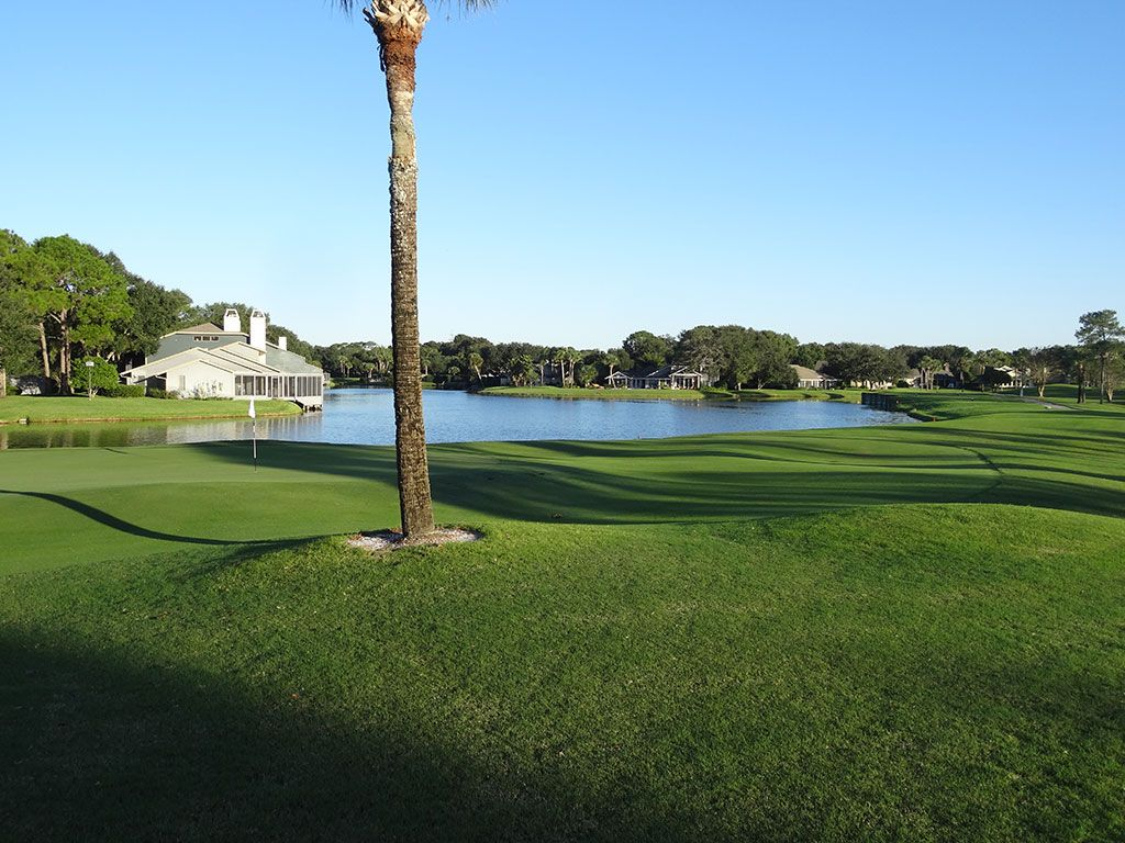 South 2nd Hole at Sawgrass Country Club (South/West) (181 Yard Par 3)