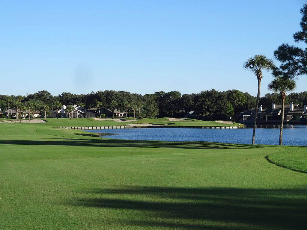 South 6th Hole at Sawgrass Country Club (South/West) (528 Yard Par 5)