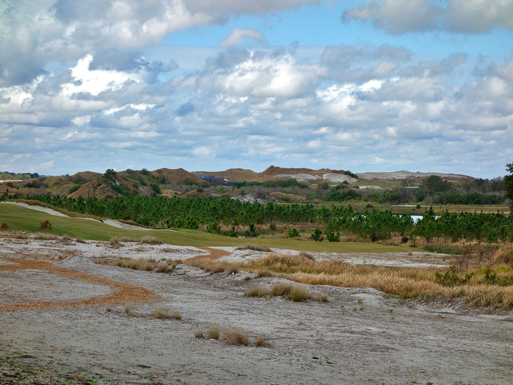 17th Hole at Streamsong Resort (Black) (205 Yard Par 3)