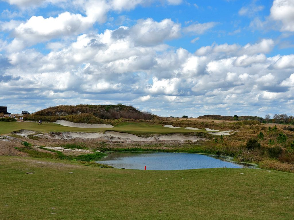 18th Hole at Streamsong Resort (Black) (586 Yard Par 5)