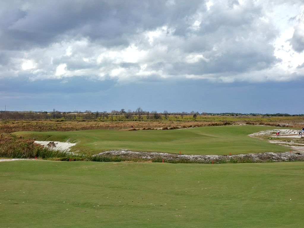 3rd Hole at Streamsong Resort (Black) (480 Yard Par 4)