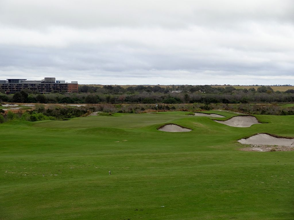 5th Hole at Streamsong Resort (Blue) (157 Yard Par 3)
