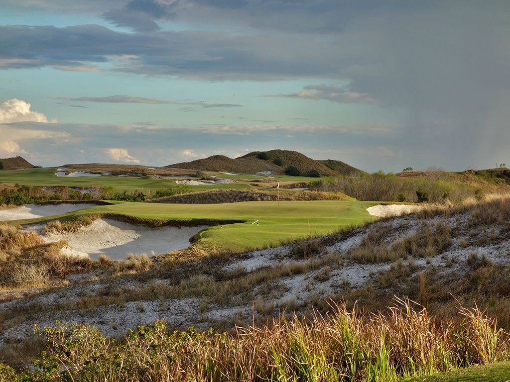 14th Hole at Streamsong Resort (Red)