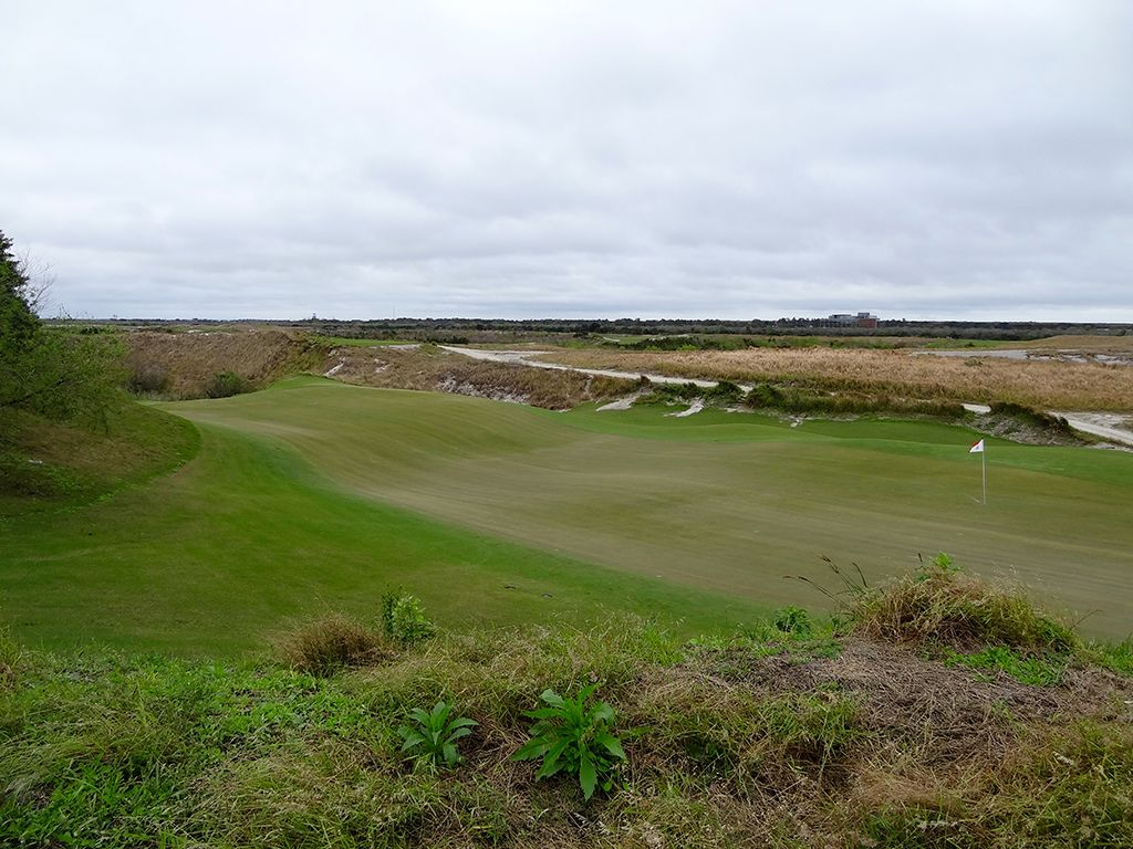 16th Hole at Streamsong Resort (Red) (208 Yard Par 3)