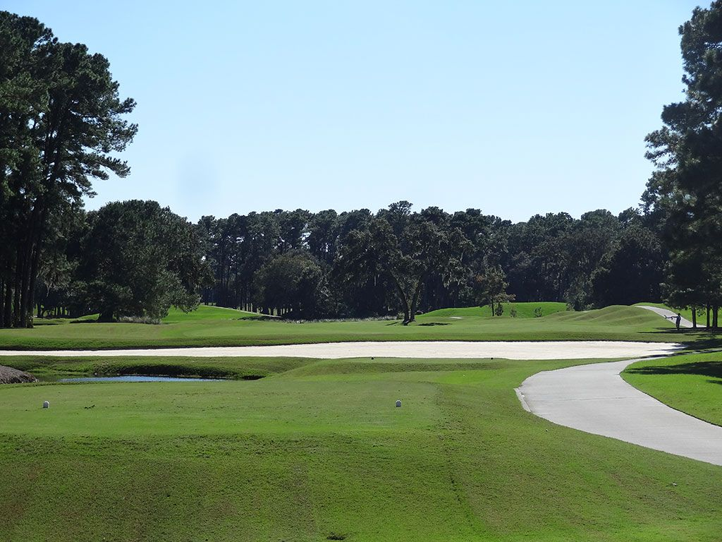 11th Hole at TPC Sawgrass (Stadium Players) (558 Yard Par 5)