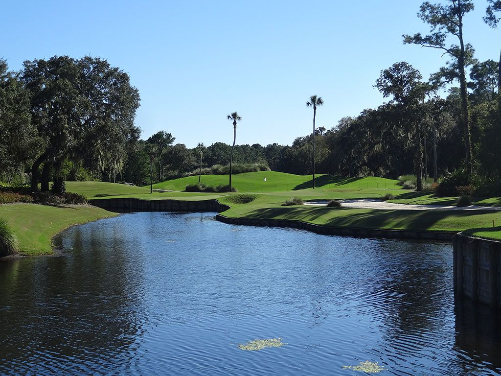 13th Hole at TPC Sawgrass (Stadium Players) (181 Yard Par 3)