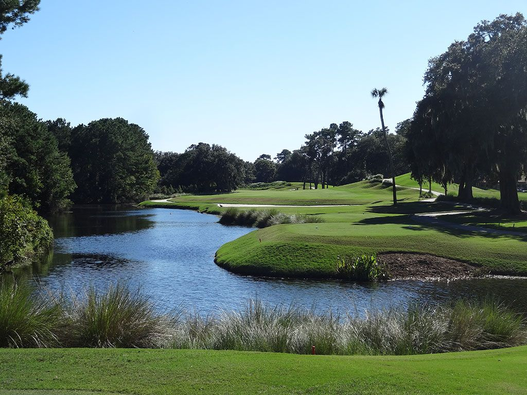 14th Hole at TPC Sawgrass (Stadium Players) (481 Yard Par 4)