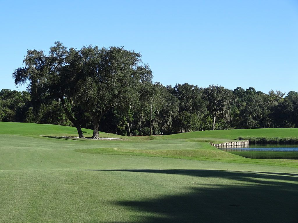 16th Hole at TPC Sawgrass (Stadium Players) (523 Yard Par 5)