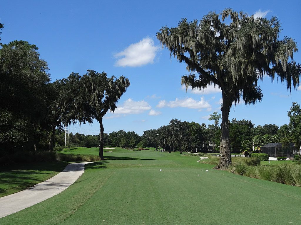 7th Hole at TPC Sawgrass (Dye Valley) (326 Yard Par 4)