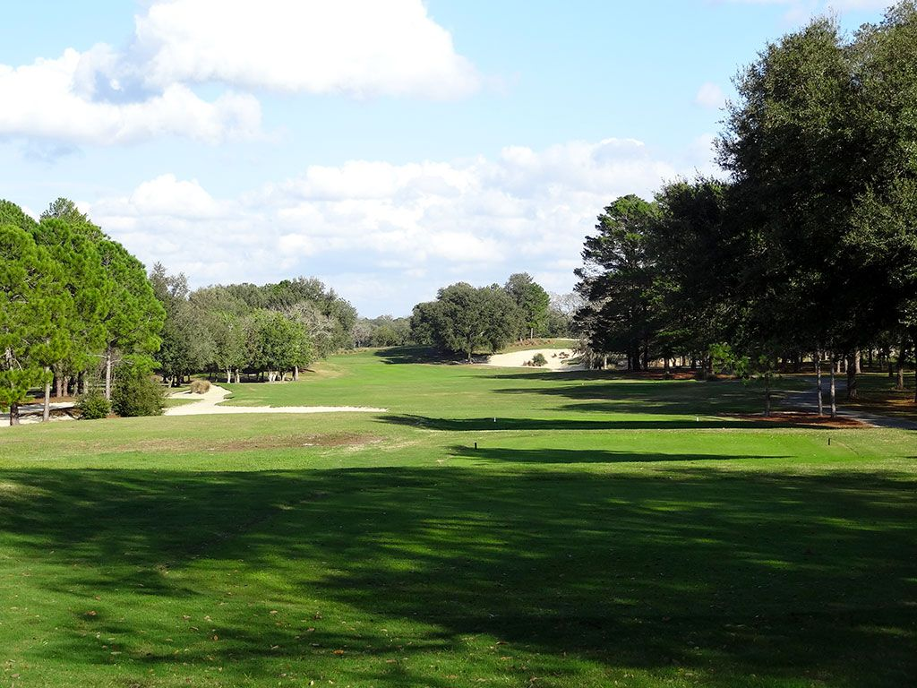 12th Hole at World Woods (Pine Barrens) (470 Yard Par 4)